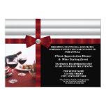 Corporate Event Client Appreciation 13 Cm X 18 Cm Invitation Card