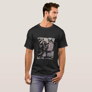 Corporate Fascism- Grim Reaper cotton T-shirt