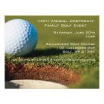 Corporate Golf Event Invitations