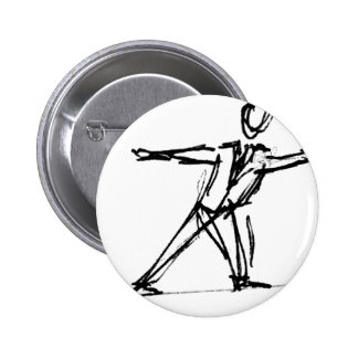 Corporate High Wire Act 6 Cm Round Badge