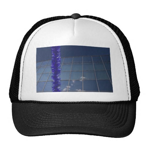 corporate holiday greetings trucker hat
