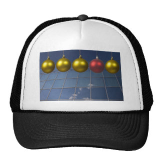 corporate holiday greetings trucker hats