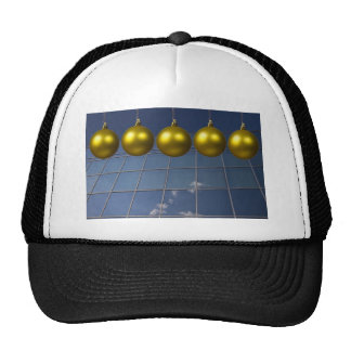 corporate holiday greetings hats