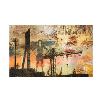 Corporate Insanity Canvas Print