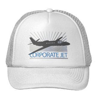 Corporate Jet Aircraft Cap