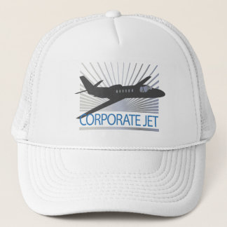 Corporate Jet Aircraft Trucker Hat