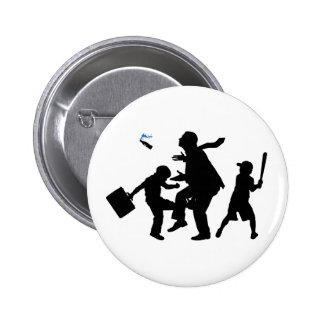 Corporate Kickback 6 Cm Round Badge