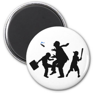 Corporate Kickback 6 Cm Round Magnet
