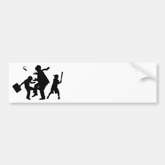 Corporate Kickback Bumper Sticker