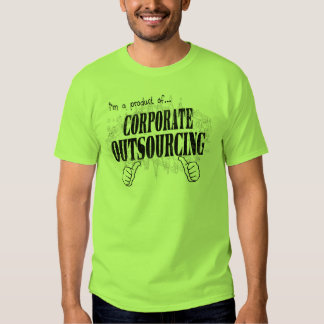 corporate outsourcing tshirts