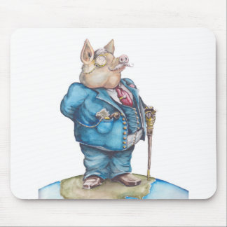 Corporate Pig Mouse Mat