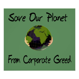 Corporate Planet Poster