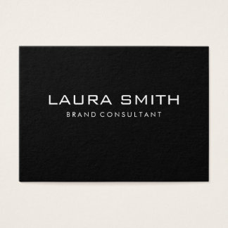 Corporate Simple | Black / Gray Business Card