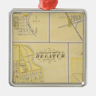 Corporate Town of Decatur Christmas Ornament