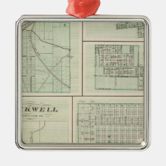 Corporate Town of Fowler, Benton Co Christmas Ornament