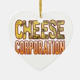 Corporation Blue Cheese Ceramic Heart Decoration