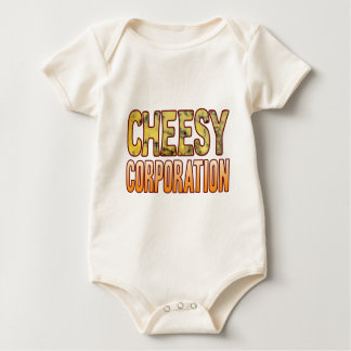 Corporation Blue Cheesy Baby Bodysuit