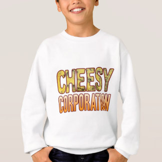 Corporation Blue Cheesy Sweatshirt