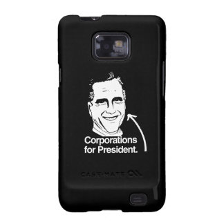 CORPORATIONS FOR PRESIDENT -.png Samsung Galaxy S Covers