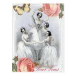 Corps de ballet postcards