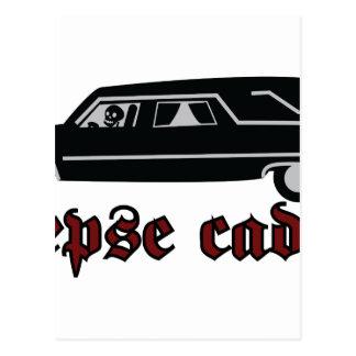 Corpse Caddie Postcard