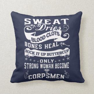 Corpsman Woman Cushion