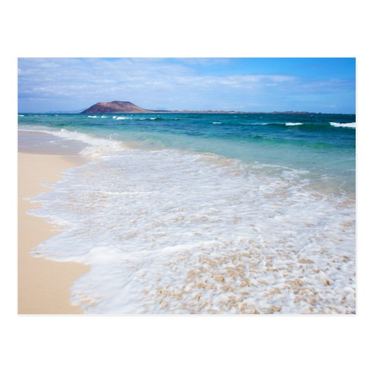Corralejo Flag Beach Postcard