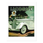 Corre-La Licorne - Vintage Advertisement Post Card