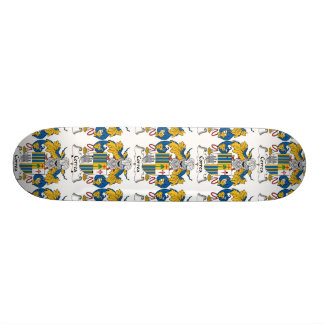 Correa Family Crest 18.1 Cm Old School Skateboard Deck
