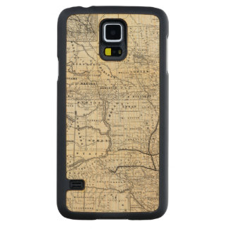 Correct map of Dakota Carved Maple Galaxy S5 Case