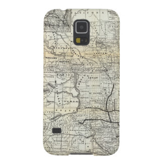 Correct map of Dakota Galaxy S5 Cover
