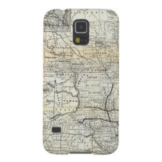 Correct map of Dakota Galaxy S5 Cover