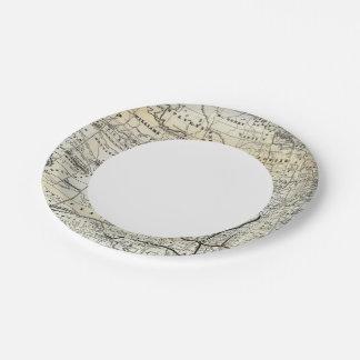 Correct map of Dakota Paper Plate