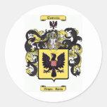 correia classic round sticker