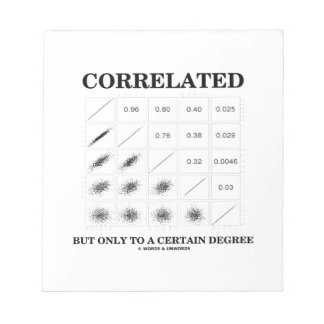 Correlated But Only To A Certain Degree Statistics Notepad