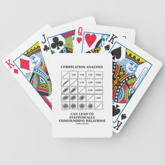 Correlation Analysis Lead Statistically Relations Bicycle Poker Deck