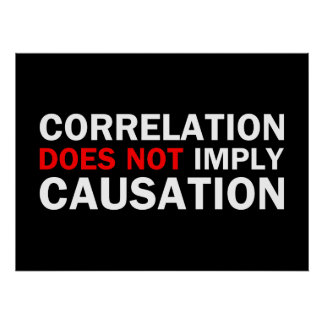 Correlation Does Not Imply Causation Poster