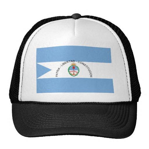 Corrientes, Argentina flag Mesh Hat
