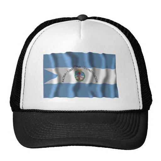 Corrientes waving flag hat