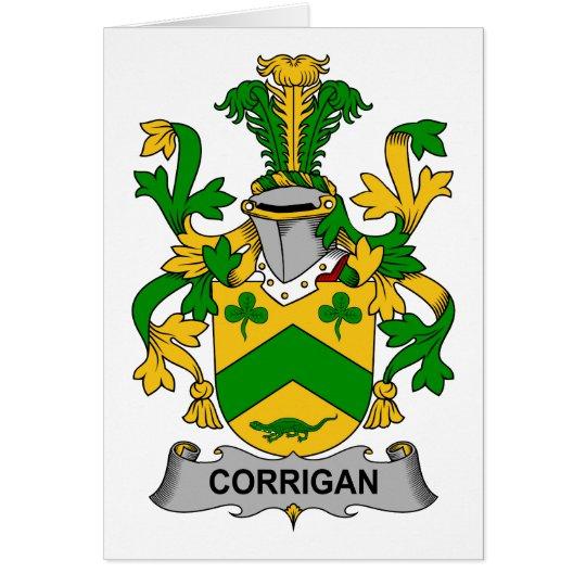 Corrigan Family Crest Card
