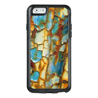 Corroded Rusty Blue Gold Rust Create Your Own OtterBox iPhone 6/6s Case
