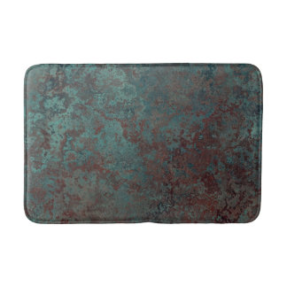 """Corrosion """"Copper"""" print bath mat medium Bath Mats"""