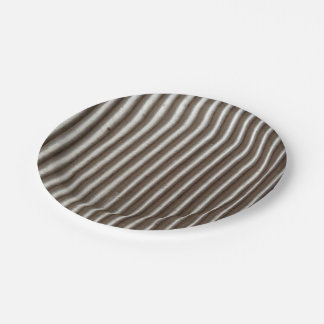 Corrugated cardboard fun BBQ buffet paper plate