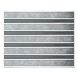 Corrugated Steel Textured Art Photo