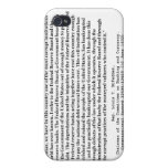 Corrupt Federal Reserve Quote by Louis T McFadden iPhone 4/4S Covers