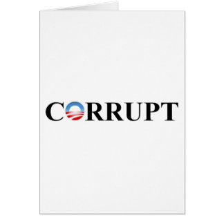 CORRUPT GREETING CARD