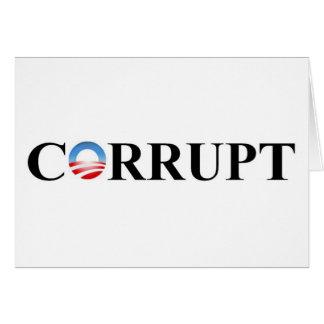 CORRUPT GREETING CARD