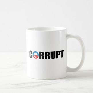 CORRUPT CLASSIC WHITE COFFEE MUG