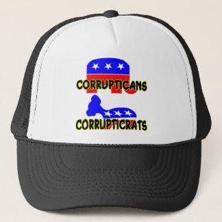 Corrupticans Corrupticrats Republican Democrat Cap
