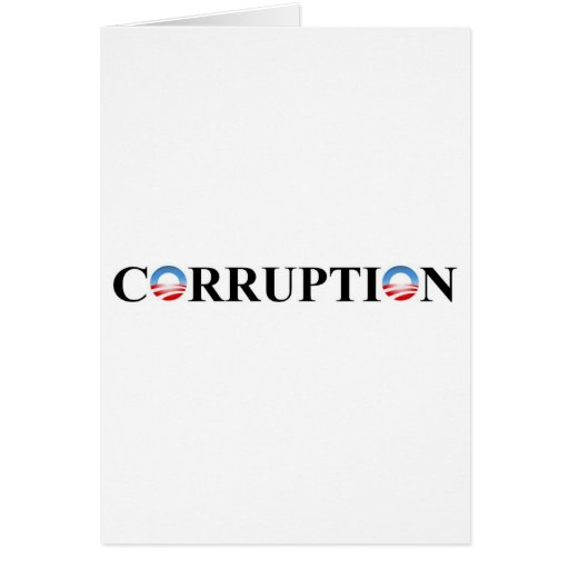 CORRUPTION GREETING CARDS